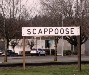 Scappoose Sign
