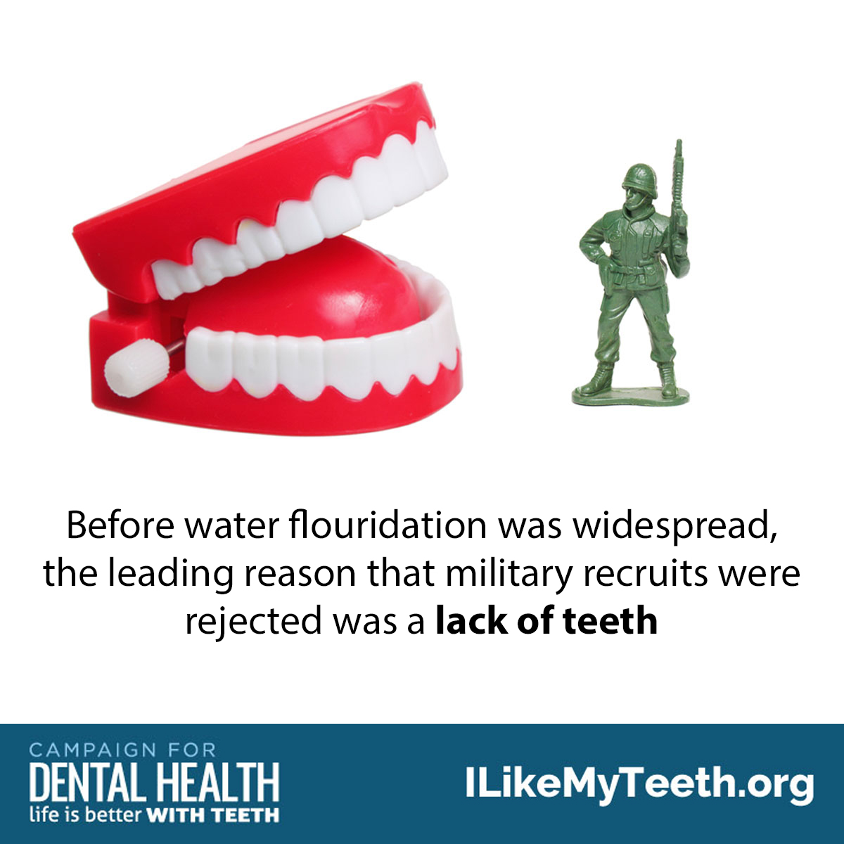 Nation's military and fluoride