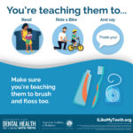 Teach Them to Brush and Floss Shareable