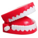 Dentures with teeth