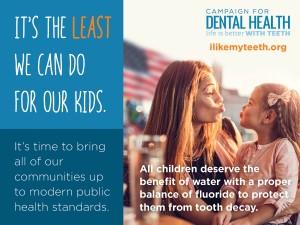fluoride can help children's dental health