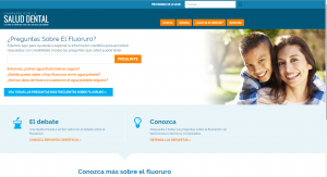 Campaign for Dental Health Spanish Website