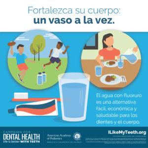 Fluoride Strengthens Teeth